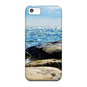 High-end Case Cover Protector For Iphone 5c(sparkling Waves)
