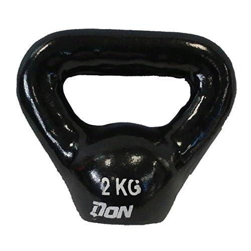 NEW Ne Kettle Bell en fonte Noir–2kg