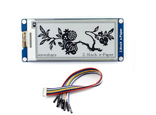 2.9inch e-Paper Module 296x128 Resolution 3.3V/5V Black White Two-Color E-Ink Display Module Electronic Paper Screen for Raspberry P Arduino Nucleo Support Partial Refresh,SPI Interface (Best E Ink Display)