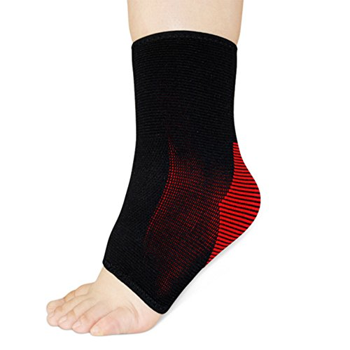 BUYITNOW Breathable Ankle Compression Sleeve Reduce Foot Sprain Injury 2pcs by BUYITNOW