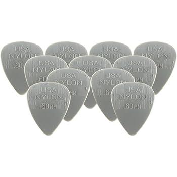 Dunlop 44P.60 Nylon Standard, Light Gray, .60mm, 12/Player's Pack