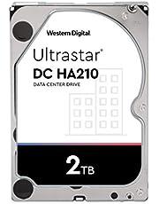 """Western Digital 2TB Ultrastar DC HA200 SATA HDD - 7200 RPM Class, SATA 6 Gb/s, 128MB Cache, 3.5"""" - HUS722T2TALA604"""