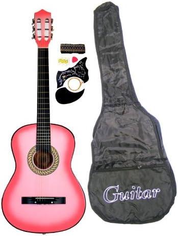 Pack de guitarra acústica para principiantes de 96,52 cm, con ...