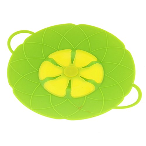 Song Qing Anti-spill Pan Lid Heat-resistant Fan Blade Shaped Silicone Kitchen Prevents Mess Gadgets