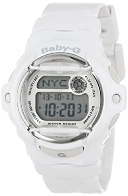 "Casio Women's BG169R-7A""Baby-G"" White Resin Sport Watch"