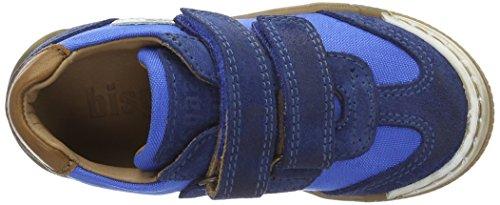 Bisgaard Klettschuhe - Zapatillas Unisex Niños Blau (149 Skydiver)