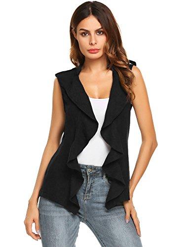 Ruffle Front Belted Shirt Dress - 1