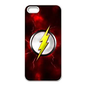 iPhone 5,5S phone cases White The Flash Phone cover KLW4112430