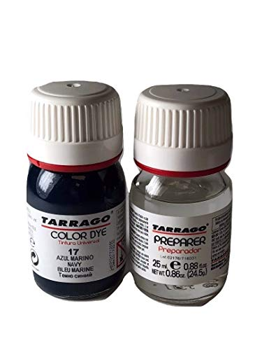 (Tarrago Self Shine Color Dye 25ml. Double #17 Navy)