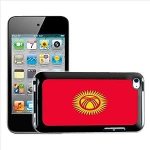 Fancy A Snuggle - Carcasa para Apple iPod Touch 4G, diseño de bandera de Kirguistán