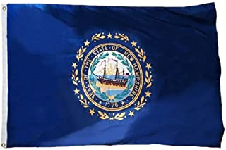 product image for Eder Flag - New Hampshire Flag - Endura-Nylon - 12 Inches by 18 Inches