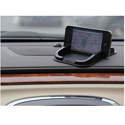 Schwarz FinukGo Silikon-magische klebrige Antirutsch-Matte Auto rutschfeste Matte f/ür Handy-Pad Navigator Halter