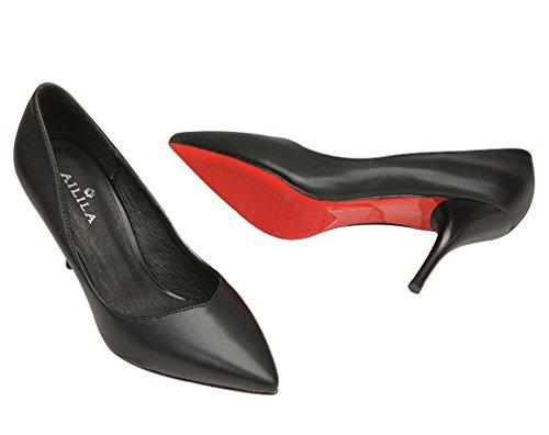 Kantoorschoenen Voor Dames Dames Schoenen Zwart Glanzend