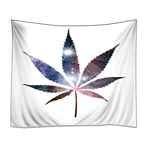 HommomH Wall Art Home Decor Tapestry - cannabis wall hangings - marijuana decor