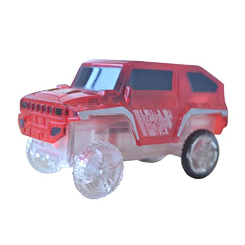 Red Seal United States Note (FINERINE Electronics Special Car for Magic Track Toys With Flashing Lights Educational (Red))