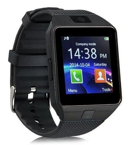 DXABLE Bluetooth Smart Watch - Digital Touch Screen WristWatch Sport Watches - Support Message Notification TF Card Pedometer Sleep Monitor for IOS Android Apple iphone 4/4S/5/5C/5S Android Samsung S2/S3/S4/Note 2/Note 3 HTC Sony Blackberry for Sport Running Walking