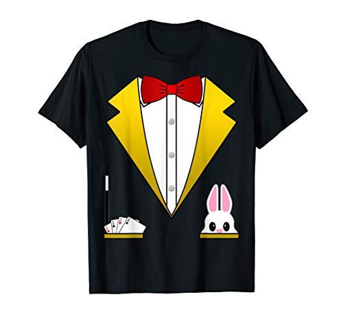 Magician Costume Shirt Funny Tuxedo Shirt For Kids & Adults]()