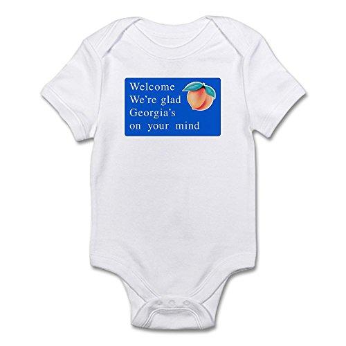 CafePress - Welcome to Georgia - USA Infant Bodysuit - Cute Infant Bodysuit Baby - Atlanta To Athens