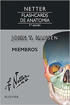 Netter. Flashcards De Anatomía. Miembros - 4ª Edición por John T. Hansen Phd