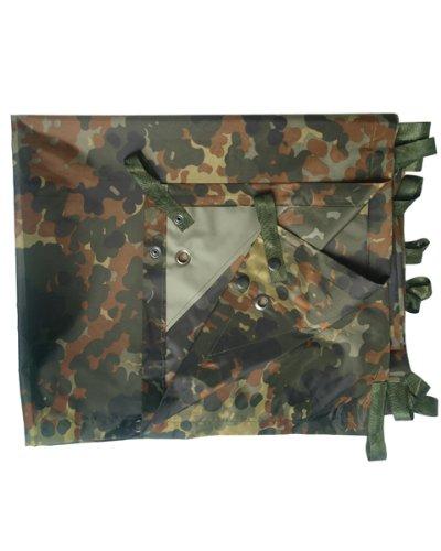 Mehrzweckplane / Campingplane im Militär-Camouflage-Look