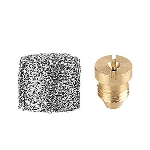 ☀ Dergo ☀ Foam Pot Orifice Nozzle Tips, 1.1 mm Foam Generator Nozzles For Snow Foam Lance