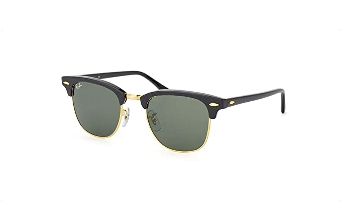 cafdc459d8f80 Ray-Ban Ebony-Arista 0RB3016 Clubmaster Sunglasses  Amazon.co.uk  Clothing