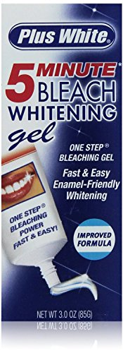 Plus White 5 Minute Maximum Whitening Speed Gel, 3-Ounce (Pack of 3)