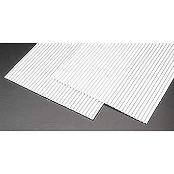 Amazon Com Plastruct Ps 25 1 Corrugated Sheet 2 Pls91520 Industrial Scientific