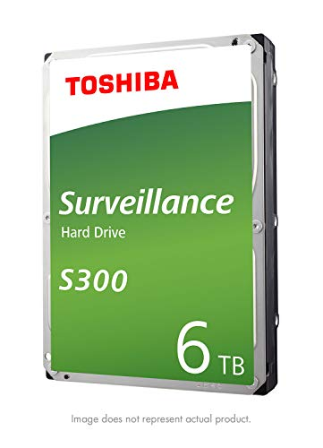 - Toshiba S300 6TB Surveillance 3.5