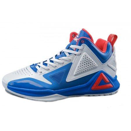 PEAK - Tp9i zapatilla de baloncesto para hombre/mujer white blue