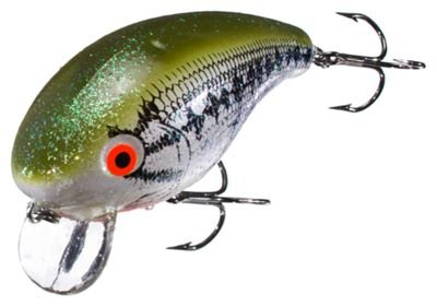 Wild Shiner - Mann's Bait Company One Minus Fishing Lure (Pack of 1), 5/8-Ounce, Wild Shiner