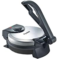 Prestige PRM 2.0 1200-Watt Roti Maker with Demo CD (Silver/Black)