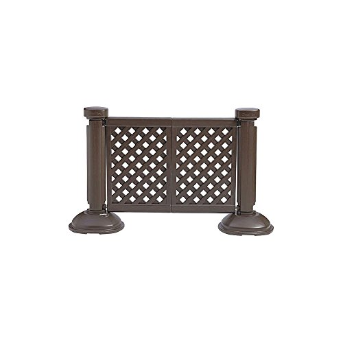 GROSFILLEX INC Grosfillex - US960423 - Fence Post and Base, 3 ft. Height, 1-1/2 Length