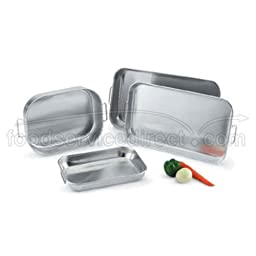 Vollrath 68257 Wear-Ever HD 7.5 Quart Aluminum Baking / Roasting Pan