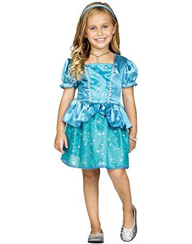 Fun World Enchanted Princess Cinderella Toddler Halloween Costume-S Sml 24Mo-2T