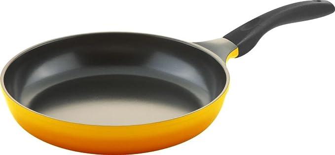 Culinario Juego de 3 Sartenes, diámetro de 20, 24 y 28 cm, Amarillo, Antiadherente y Apta para inducción: Amazon.es: Hogar