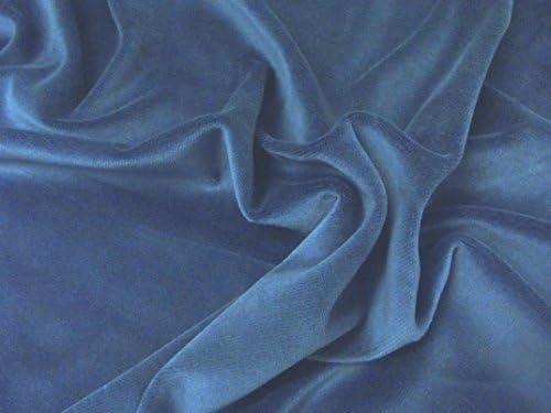 Terciopelo de algodón de lujo tela de terciopelo material, color ...