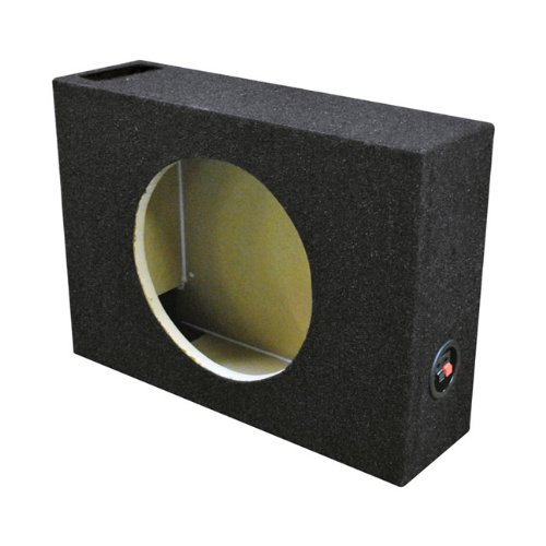 Qpower Single 10' Shallow Vented Woofer Box QSHALLOW110V_50