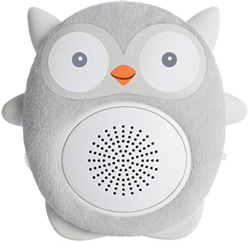 Email Bluetooth (SoundBub, White Noise Machine and Bluetooth Speaker | Portable and Rechargeable On-the-Go Infant Shusher & Baby Sleep Aid Sound Soother by WavHello – Ollie the Owl, Gray)
