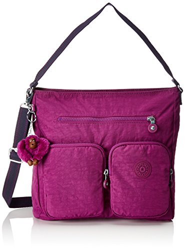 Kipling Tasmo, Borse a spalla Donna Rosa (Urban Pink C)