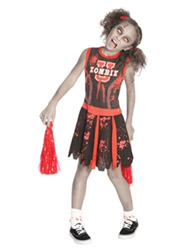 Undead Cheerleader Child Costume, Medium