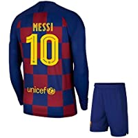 Barcelona Home KIT Full Sleeve with Messi Printed 2019-20