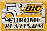 platinum chrome blades - 5 BIC Chrome Platinum Razor Blades - Create Your Sampler (86 Brands Available)