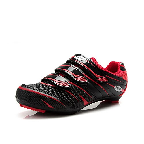 Tiebao Road Cycling Schuhe Lock Pedal Fahrradschuhe Cleated Fahrrad ciclismo Schuhe rot