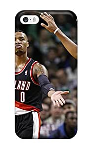 Elliot D. Stewart's Shop portland trail blazers nba basketball (3) NBA Sports & Colleges colorful iPhone 5/5s cases
