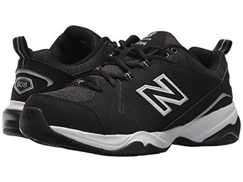 クックシェル排泄する(ニューバランス) New Balance レディーストレーニング?競技用シューズ?靴 WX608v4 Black/White 5 (22cm) D - Wide