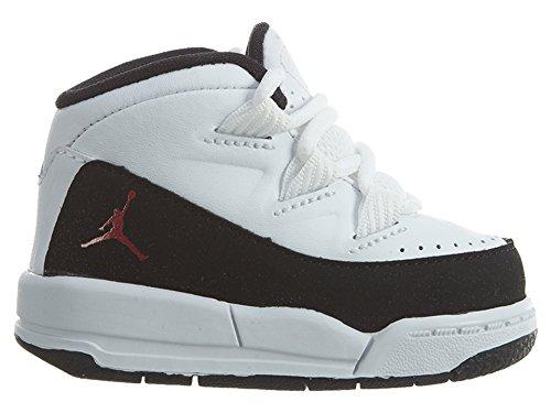 huge selection of f17f1 3919b Nike Unisex Baby Jordan Deluxe BT Sneaker, (Weiß Gym Rot-Schwarz), 17 EU   Amazon.de  Schuhe   Handtaschen