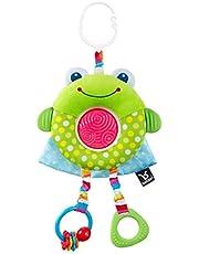 Benbat Dazzle Friends Plush Stroller Toy, Green