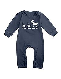 Duck Duck Moose Toddler Romper Jumpsuit Romper Clothing Navy