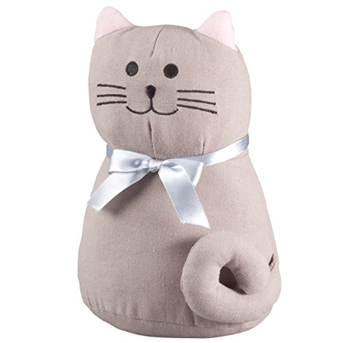 Oak Door Stop - Plush Cat Doorstop by OakRidgeTM